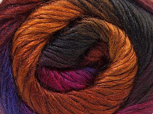 Fiber Content 40% Wool, 30% Acrylic, 30% Mohair, Purple, Brand ICE, Gold, Fuchsia, Copper, Brown, Yarn Thickness 3 Light  DK, Light, Worsted, fnt2-27204