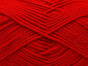 Baby cotton is a 100% premium giza cotton yarn exclusively made as a baby yarn. It is anti-bacterial and machine washable! Fiber Content 100% Giza Cotton, Red, Brand ICE, Yarn Thickness 3 Light  DK, Light, Worsted, fnt2-27894