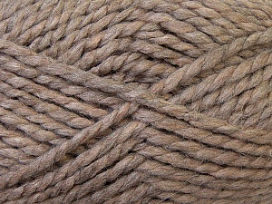 SuperBulky  Fiber Content 60% Acrylic, 30% Alpaca, 10% Wool, Light Camel, Brand ICE, Yarn Thickness 6 SuperBulky  Bulky, Roving, fnt2-30828