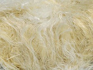 Fiber Content 100% Polyamide, White, Brand ICE, Cream, Yarn Thickness 5 Bulky  Chunky, Craft, Rug, fnt2-30836