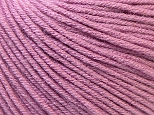 Fiber Content 60% Cotton, 40% Acrylic, Light Orchid, Brand ICE, Yarn Thickness 2 Fine  Sport, Baby, fnt2-32563