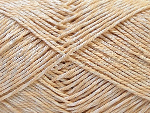 Fiber Content 50% Cotton, 50% Polyester, Brand ICE, Cream, Yarn Thickness 2 Fine  Sport, Baby, fnt2-33041