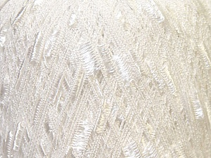 Trellis  Fiber Content 100% Polyester, White, Brand Ice Yarns, Yarn Thickness 5 Bulky  Chunky, Craft, Rug, fnt2-34021
