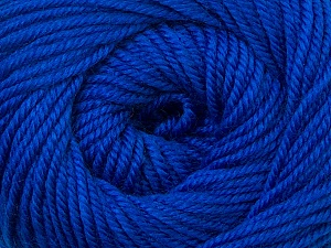 Fiber Content 100% Wool, Royal Blue, Brand ICE, Yarn Thickness 3 Light  DK, Light, Worsted, fnt2-34718