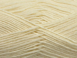 Fiber Content 50% Wool, 50% Acrylic, Brand ICE, Cream, Yarn Thickness 3 Light  DK, Light, Worsted, fnt2-35022