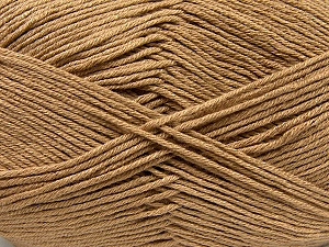 Fiber Content 100% Antibacterial Dralon, Light Brown, Brand ICE, Yarn Thickness 2 Fine  Sport, Baby, fnt2-35233