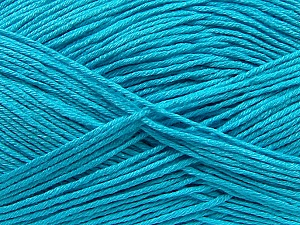 Fiber Content 100% Antibacterial Dralon, Turquoise, Brand ICE, Yarn Thickness 2 Fine  Sport, Baby, fnt2-35237