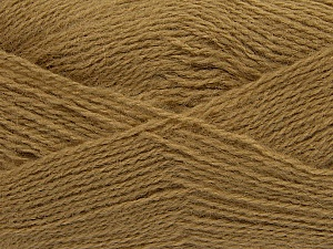 Fiber Content 70% Acrylic, 30% Angora, Light Brown, Brand ICE, Yarn Thickness 2 Fine  Sport, Baby, fnt2-36436