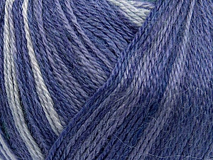 Fiber Content 40% Acrylic, 35% Wool, 25% Alpaca, Purple Shades, Brand ICE, Dark Green, Yarn Thickness 2 Fine  Sport, Baby, fnt2-36985