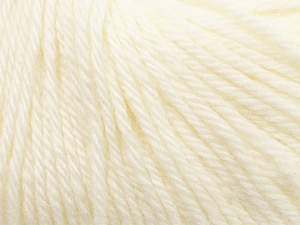 Fiber Content 100% Wool, White, Brand ICE, Yarn Thickness 4 Medium  Worsted, Afghan, Aran, fnt2-37993