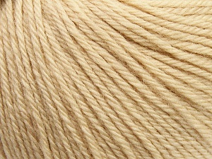 Fiber Content 100% Wool, Light Beige, Brand ICE, Yarn Thickness 4 Medium  Worsted, Afghan, Aran, fnt2-37996