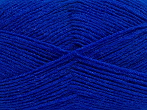 Fiber Content 50% Wool, 50% Acrylic, Brand ICE, Blue, Yarn Thickness 3 Light  DK, Light, Worsted, fnt2-40809