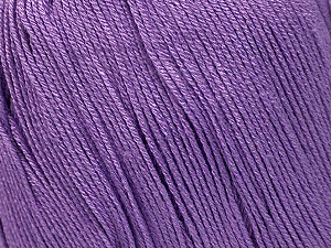 Fiber Content 100% Bamboo, Lilac, Brand ICE, Yarn Thickness 2 Fine  Sport, Baby, fnt2-41462