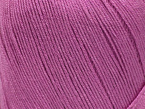 Fiber Content 100% Bamboo, Orchid, Brand ICE, Yarn Thickness 2 Fine  Sport, Baby, fnt2-41463