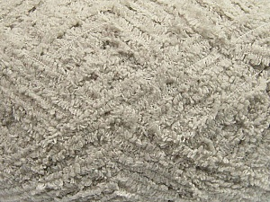 Fiber Content 100% Micro Fiber, Light Grey, Brand ICE, Yarn Thickness 5 Bulky  Chunky, Craft, Rug, fnt2-41754