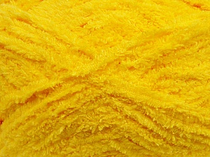 Fiber Content 100% Micro Fiber, Yellow, Brand ICE, Yarn Thickness 5 Bulky  Chunky, Craft, Rug, fnt2-41757