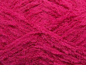Fiber Content 100% Micro Fiber, Brand ICE, Fuchsia, Yarn Thickness 5 Bulky  Chunky, Craft, Rug, fnt2-41765