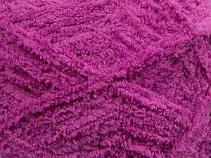 Fiber Content 100% Micro Fiber, Brand ICE, Dark Orchid, Yarn Thickness 5 Bulky  Chunky, Craft, Rug, fnt2-41768