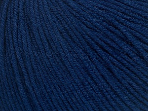 Fiber Content 60% Cotton, 40% Acrylic, Navy, Brand ICE, Yarn Thickness 2 Fine  Sport, Baby, fnt2-42185