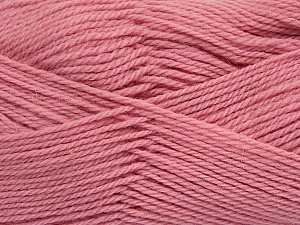 Fiber Content 100% Virgin Wool, Light Pink, Brand ICE, Yarn Thickness 3 Light  DK, Light, Worsted, fnt2-42315