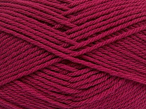 Fiber Content 50% Acrylic, 50% Polyamide, Brand ICE, Burgundy, Yarn Thickness 3 Light  DK, Light, Worsted, fnt2-42376