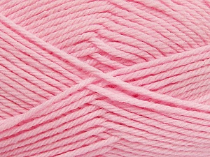 Fiber Content 50% Polyamide, 50% Acrylic, Light Pink, Brand ICE, Yarn Thickness 3 Light  DK, Light, Worsted, fnt2-42390