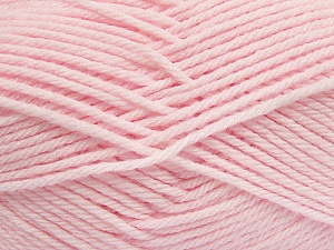Fiber Content 50% Acrylic, 50% Polyamide, Brand ICE, Baby Pink, Yarn Thickness 3 Light  DK, Light, Worsted, fnt2-42391