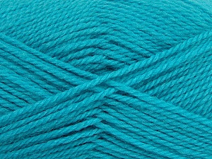 Fiber Content 50% Acrylic, 30% Wool, 20% Polyamide, Turquoise, Brand ICE, Yarn Thickness 2 Fine  Sport, Baby, fnt2-42423