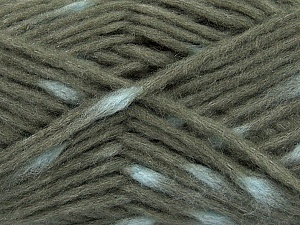 Make a knot on the spots part of the yarn while knitting to give a pompom look. Fiber Content 82% Acrylic, 18% Polyamide, Brand ICE, Grey, Blue, Yarn Thickness 5 Bulky  Chunky, Craft, Rug, fnt2-42686