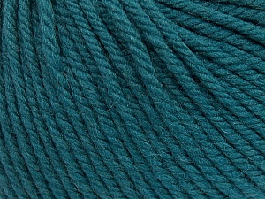 SUPERWASH WOOL BULKY is a bulky weight 100% superwash wool yarn. Perfect stitch definition, and a soft-but-sturdy finished fabric. Projects knit and crocheted in SUPERWASH WOOL BULKY are machine washable! Lay flat to dry. Fiber Content 100% Superwash Wool, Teal, Brand ICE, Yarn Thickness 5 Bulky  Chunky, Craft, Rug, fnt2-42833