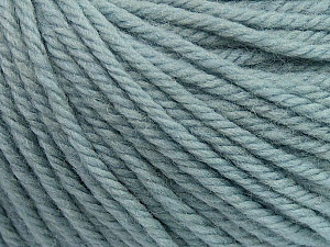 SUPERWASH WOOL BULKY is a bulky weight 100% superwash wool yarn. Perfect stitch definition, and a soft-but-sturdy finished fabric. Projects knit and crocheted in SUPERWASH WOOL BULKY are machine washable! Lay flat to dry. Fiber Content 100% Superwash Wool, Light Blue, Brand ICE, Yarn Thickness 5 Bulky  Chunky, Craft, Rug, fnt2-42840