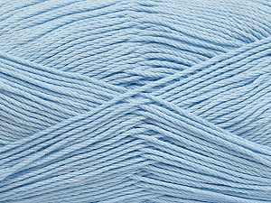 Fiber Content 50% Viscose, 50% Bamboo, Light Indigo Blue, Brand ICE, Yarn Thickness 2 Fine  Sport, Baby, fnt2-43038