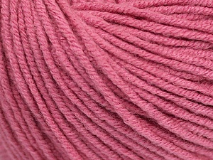 Fiber Content 50% Acrylic, 50% Cotton, Rose Pink, Brand ICE, Yarn Thickness 3 Light  DK, Light, Worsted, fnt2-43070