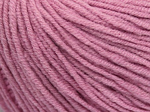 Fiber Content 50% Acrylic, 50% Cotton, Light Orchid, Brand ICE, Yarn Thickness 3 Light  DK, Light, Worsted, fnt2-43072