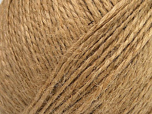 Fiber Content 100% Hemp Yarn, Brand ICE, Beige, Yarn Thickness 3 Light  DK, Light, Worsted, fnt2-43944