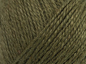 Fiber Content 100% Hemp Yarn, Khaki, Brand ICE, Yarn Thickness 3 Light  DK, Light, Worsted, fnt2-43946
