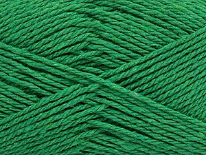 Fiber Content 100% Cotton, Brand ICE, Green, Yarn Thickness 3 Light  DK, Light, Worsted, fnt2-44317