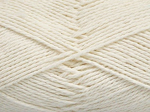Fiber Content 100% Cotton, Off White, Brand ICE, Yarn Thickness 3 Light  DK, Light, Worsted, fnt2-44324