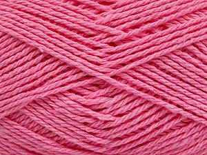 Fiber Content 100% Cotton, Light Pink, Brand ICE, Yarn Thickness 3 Light  DK, Light, Worsted, fnt2-44330