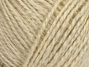Fiber Content 100% Hemp Yarn, Brand ICE, Ecru, Yarn Thickness 3 Light  DK, Light, Worsted, fnt2-44843
