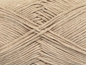 Please note that the yarn weight and the ball length may vary from one color to another for this yarn. Fiber Content 100% Cotton, Brand Ice Yarns, Beige, Yarn Thickness 3 Light  DK, Light, Worsted, fnt2-44863