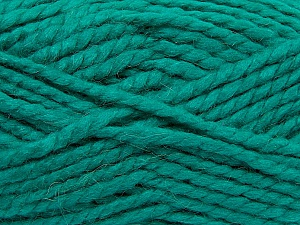 SuperBulky  Fiber Content 60% Acrylic, 30% Alpaca, 10% Wool, Brand ICE, Emerald Green, Yarn Thickness 6 SuperBulky  Bulky, Roving, fnt2-45163