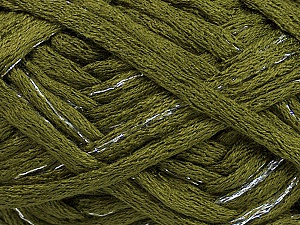 Fiber Content 100% Acrylic, Silver, Brand ICE, Green, Yarn Thickness 6 SuperBulky  Bulky, Roving, fnt2-45177