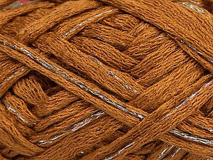 Fiber Content 100% Acrylic, Silver, Light Brown, Brand ICE, Yarn Thickness 6 SuperBulky  Bulky, Roving, fnt2-45178