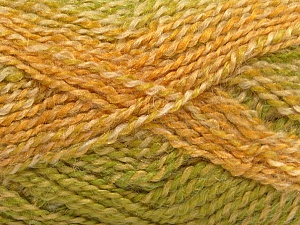 Fiber Content 55% Acrylic, 25% Mohair, 20% Alpaca, Yellow Shades, Brand Ice Yarns, Green Shades, Yarn Thickness 4 Medium  Worsted, Afghan, Aran, fnt2-46210