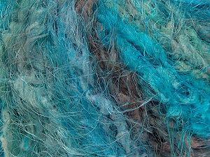 Fiber Content 100% Polyamide, Turquoise, Brand ICE, Grey, Green, Yarn Thickness 5 Bulky  Chunky, Craft, Rug, fnt2-46436