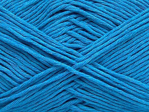 Please note that the yarn weight and the ball length may vary from one color to another for this yarn. Fiber Content 100% Cotton, Turquoise, Brand Ice Yarns, Yarn Thickness 3 Light  DK, Light, Worsted, fnt2-46499