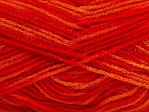 Fiber Content 100% Premium Acrylic, Yellow, Red, Orange, Brand ICE, Yarn Thickness 3 Light  DK, Light, Worsted, fnt2-46502
