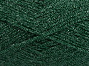 Fiber Content 100% Premium Acrylic, Brand ICE, Dark Green, Yarn Thickness 3 Light  DK, Light, Worsted, fnt2-46506
