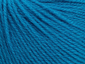 Fiber Content 100% Acrylic, Turquoise, Brand Ice Yarns, Yarn Thickness 2 Fine  Sport, Baby, fnt2-46598